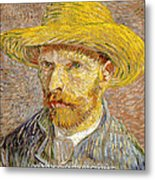 Vincent Van Gogh Quotes 6 Metal Print