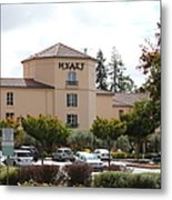 Vineyard Creek Hyatt Hotel Santa Rosa California 5d25866 Metal Print