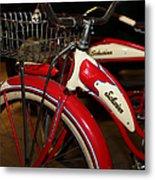 Vintage 1941 Boys And 1946 Girls Bicycle 5d25760 Vertical Metal Print