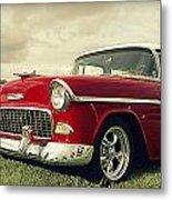 Vintage 1955 Chevy Nomad Metal Print