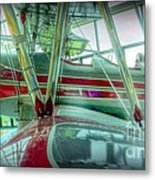 Vintage Airplane Two Metal Print
