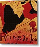 Vintage Art Poster Advertisement Entertainment Toulouse Lautrec 1892 Metal Print
