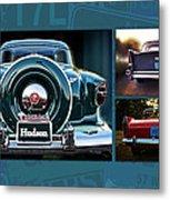 Vintage Automobiles Metal Print