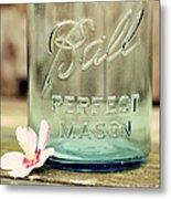Vintage Ball Perfect Mason Metal Print