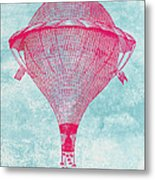 Vintage Balloon Metal Print