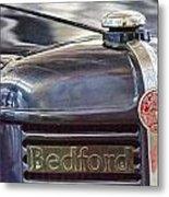 Vintage Bedford Truck Metal Print