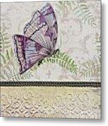 Vintage Butterfly-jp2568 Metal Print