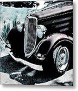 Vintage Ford Car Art 1 Metal Print