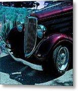 Vintage Ford Car Art II Metal Print