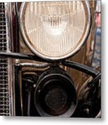 Vintage Car Details 6295 Metal Print