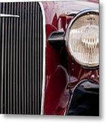 Vintage Car Details 6297 Metal Print