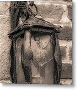 Vintage Carriage Lamp Metal Print