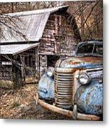 Vintage Chevrolet Metal Print