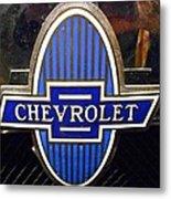 Vintage Chevrolet Logo Metal Print