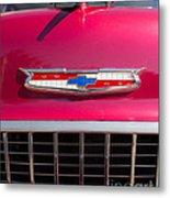 Vintage Chevy Bel Air Metal Print