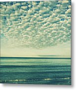 Vintage Clouds Metal Print
