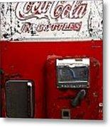 Vintage Coca Cola Metal Print