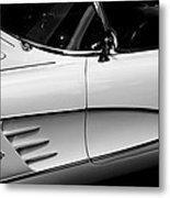 Vintage Corvette 4b Metal Print