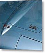 Vintage Corvette 6 Metal Print
