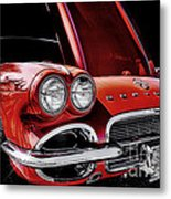 Vintage Corvette  Metal Print