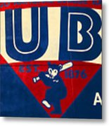 Vintage Cubs Spring Training Sign Metal Print