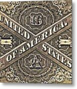 Vintage Currency  Metal Print by Chris Berry