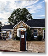 Vintage Fill Up Metal Print