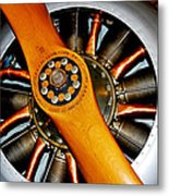 Vintage Flight Metal Print