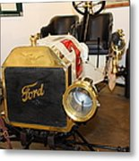Vintage Ford Model T Racer 5d25613 Metal Print by Wingsdomain Art and Photography