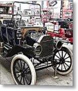 Vintage Ford Vehicle Metal Print