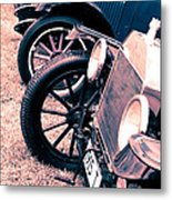 Vintage Fords Metal Print by Phil 'motography' Clark
