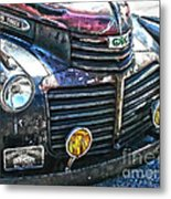 Vintage Gm Truck Hdr 2 Grill Art Metal Print