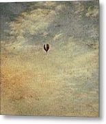 Vintage Hot Air Balloons Metal Print