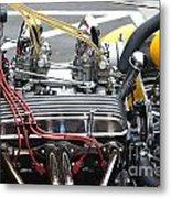 Vintage Hotrod Engine Metal Print