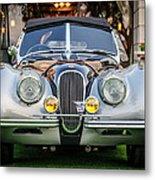 Vintage Jaguar -0924c Metal Print