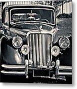 Vintage Jaguar 1950s Metal Print