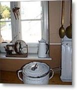Vintage Kitchenware Metal Print
