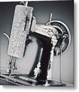 Vintage Machine Metal Print