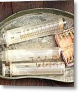 Vintage Medical Tools Metal Print