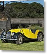Vintage Morgan Roadster Metal Print