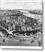 Vintage New York 1903 Metal Print