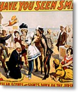 Vintage Nostalgic Poster - 8046 Metal Print by Wingsdomain Art and Photography