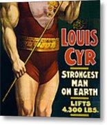 Vintage Nostalgic Poster 8061 Metal Print
