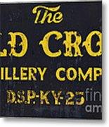 Vintage Old Crow - D008693 Metal Print