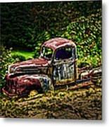 Vintage Old Forty's Pickup Metal Print