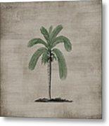 Vintage Palm Tree Metal Print