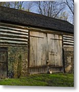 Vintage Pennsylvania Barn Metal Print