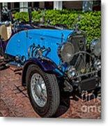 Vintage Peugeot 201 Metal Print
