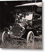 Vintage Photo Of Rural Mail Carrier - 1914 Metal Print