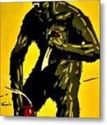 Vintage Poster - Germany - Down With Bolshevism Metal Print by Benjamin Yeager